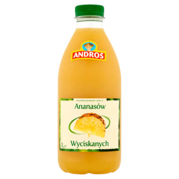 ANDROS Pineapple juice 1l
