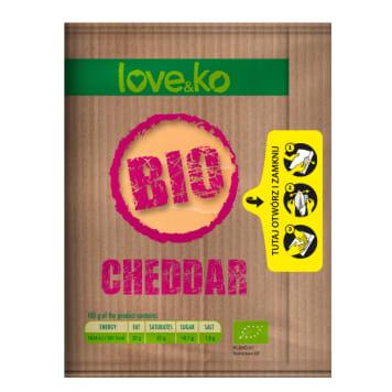 LOVE&KO Cheddar   - slices BIO 100g
