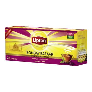 LIPTON BOMBAY BAZAAR Herbata czarna aromatyzowana 25 torebek 45g