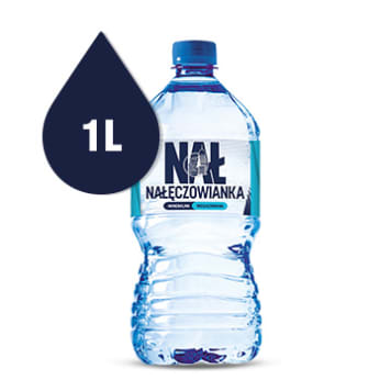 NAŁĘCZOWIANKA Non-carbonated natural mineral water 1l