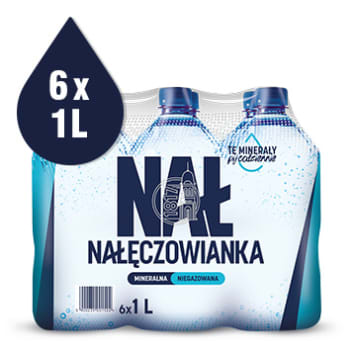 NAŁĘCZOWIANKA Non-carbonated natural mineral water 6 l