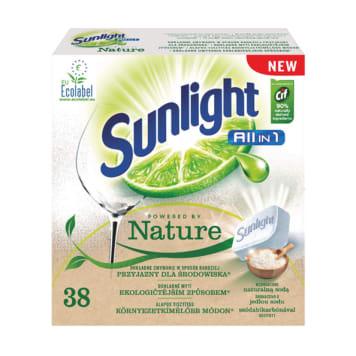 SUNLIGHT EKO tabletki do zmywarki Powered by Nature 38 szt. 1szt