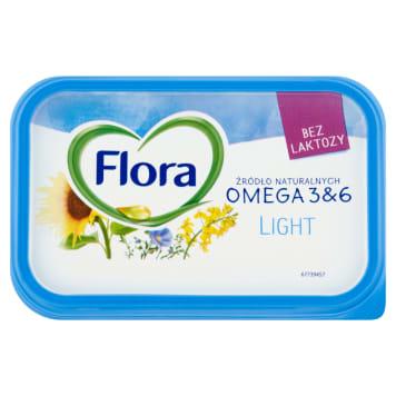 Margaryna - Flora Light. Zalecana osobom stosującym dietę niskotłuszczową.