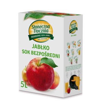 Sok jabłkowy nieklarowany Słoneczna Tłocznia
