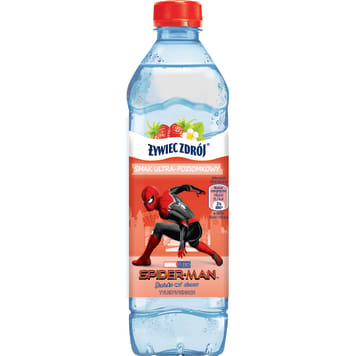 ŻYWIEC ZDRÓJ Non-carbonated drink with horrible wild strawberry 500ml