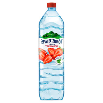 Żywiec Zdrój Smako-Łyk – Truskawkowy napój niegazowany. Połączenie wody źródlanej i owoców.