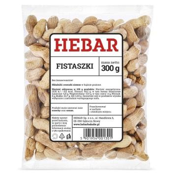 HEBAR Fistaszki 300g