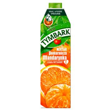 Tymbark Nektar Pomarańcza z mandarynką to bogate źródło witaminy C.
