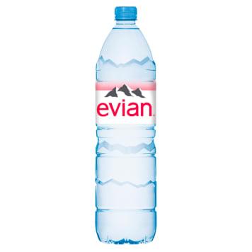 Woda mineralna PET - Evian to sposób na skuteczne nawodnienie organizmu.