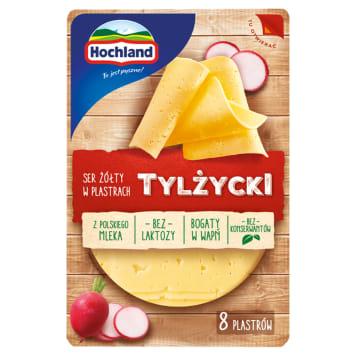 Ser żółty w plastrach Tylżycki - Hochland. Tradycyjny produkt w Twojej codziennej kuchni.