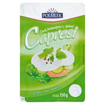 Ziołowy serek śmietankowy w plastrach Capresi - Warmia: zdrowe źródło białka