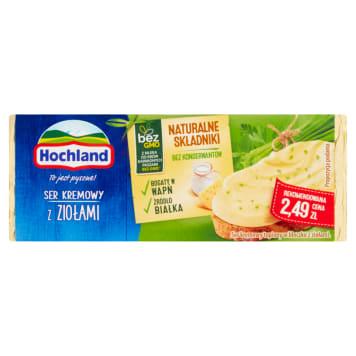 Hochland - Ser topiony w bloczku z ziołami. Świeży i niepowtarzalny smak.