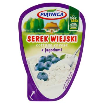 Serek wiejski z jagodami 150g - Piątnica