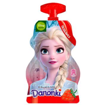 DANONE Danonki Jogurt truskawkowy - saszetka 70g