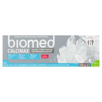 BIOMED Calcimax Pasta do zębów wzmacniająca i remineralizująca szkliwo 100ml
