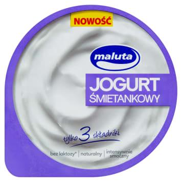 MALUTA Jogurt śmietankowy bez laktozy 220g