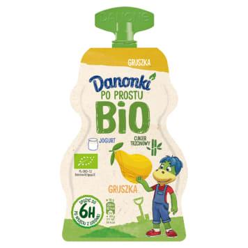 DANONE Danonki Po prostu Jogurt gruszka BIO 70g