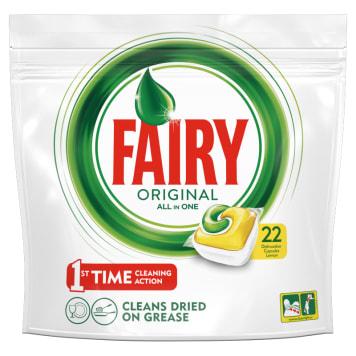 FAIRY Original All In One Tabletki do zmywarki cytrynowe 22 szt 1szt