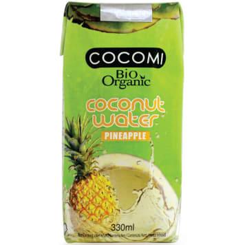 COCOMI Woda kokosowa o smaku ananasa BIO 330ml