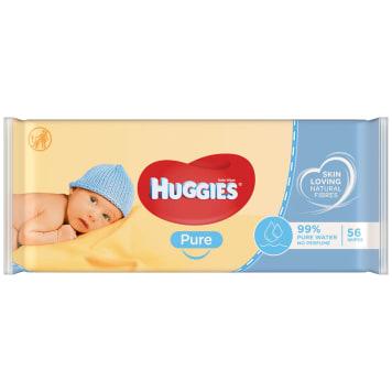 HUGGIES Pure Chusteczki nawilżane 56 szt 1szt