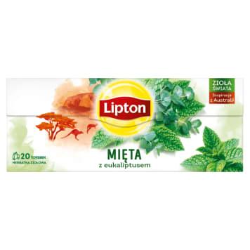 LIPTON Herbata ziołowa Eukaliptus&Mięta 20 torebek 26g