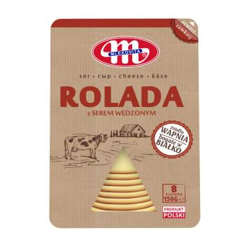 MLEKOVITA Rolada z serem wędzonym plastry 150g