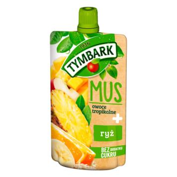 TYMBARK Mus owoce tropikalne + ryż 100g