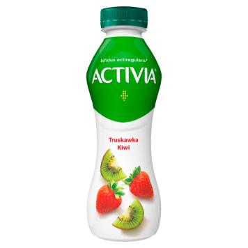 Danone Activia - Jogurt truskawka kiwi 300g. Pyszny i zdrowy.