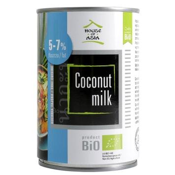 HOUSE OF ASIA Mleczko kokosowe BIO 5-7% 400ml