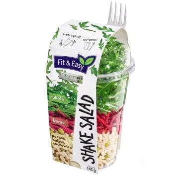 FIT&EASY Shake salads pęczak burak 145g