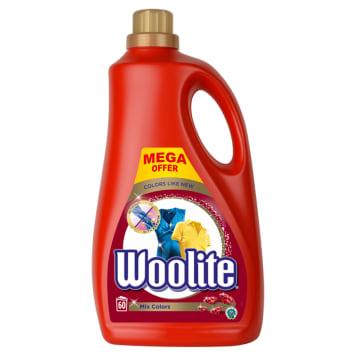 Płyn do prania chroniący kolor - Woolite skutecznie usunie zabrudzenia i ochroni kolor ubrań.