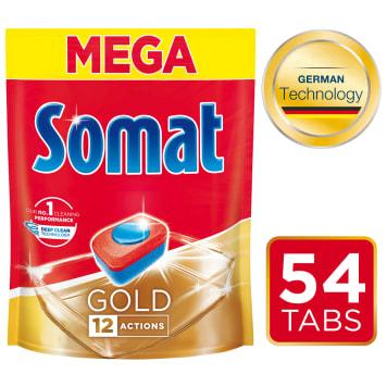 SOMAT Gold Tabletki do zmywarek 54 szt. 1szt