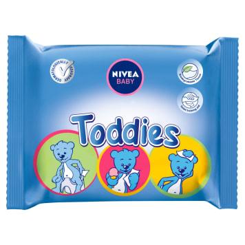 NIVEA Baby Chusteczki Toddies 60 szt - specjalnie opracowane dla dzieci.
