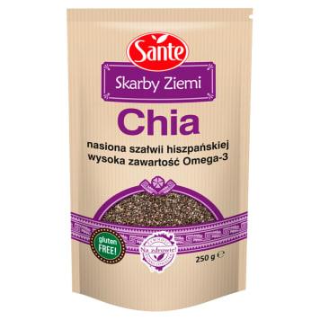Nasiona szałwii hiszpańskiej - Skarby Ziemi Chia Sante