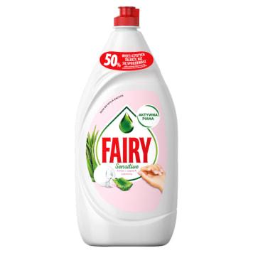 FAIRY Sensitive Płyn do mycia naczyń aloes i jaśmin 1.35l