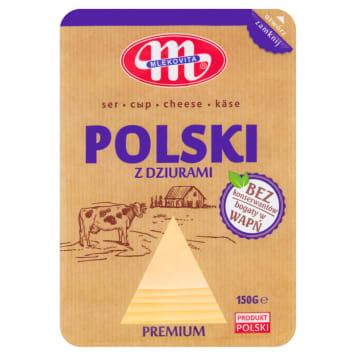 MLEKOVITA Ser Polski z dziurami plastry 150g