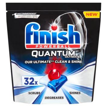 FINISH Quantum Ultimate Tabletki do mycia naczyń w zmywarce 32 szt 400g
