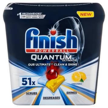 FINISH Quantum Ultimate Tabletki do mycia naczyń w zmywarce cytrynowe 51 szt 637g