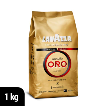 LAVAZZA Qualita Oro Kawa ziarnista palona 1kg