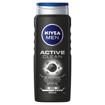 Nivea - Żel pod prysznic Active Clean. Do codziennej pielęgnacji skóry ciała.