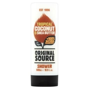 ORIGINAL SOURCE Żel pod prysznic Coconut & Shea Butter 500ml