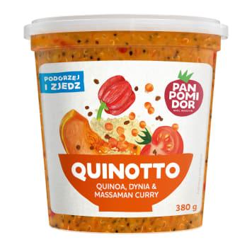 PAN POMIDOR Quinotto quinoa, dynia & massaman curry danie gotowe 380g