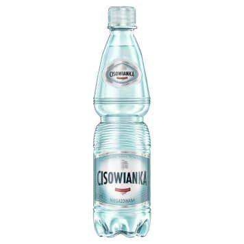 Naturalna niegazowana woda mineralna o neutralnym zapachu