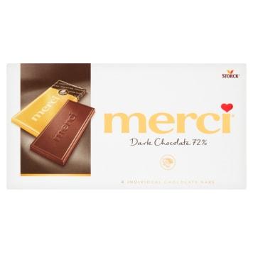 MERCI Czekolada gorzka 72% kakao 100g