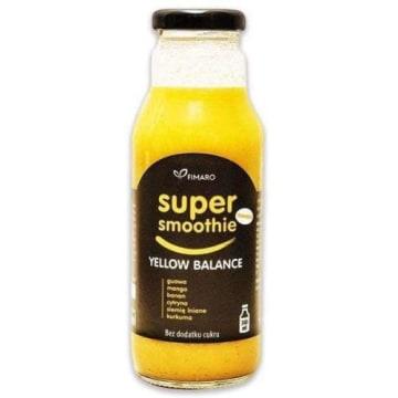 Żółte Smoothie - Fimaro nie zawiera cukru, ani sztucznych dodatków i konserwantów.