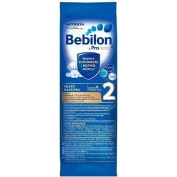 BEBILON 2 z Pronutra + mleko następne powyżej 6 miesiąca 29g