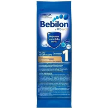 BEBILON 1 z pronutra mleko początkowe dla niemowląt od urodzenia 27g