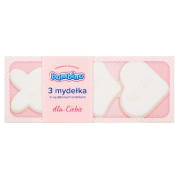 BAMBINO Mydełka w wyjątkowych kształtach - różowe 3x50g 150g