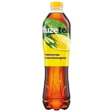 FUZETEA Napój o smaku cytr. z ekstraktem z czarnej herbaty i trawy cytr. 1.5l