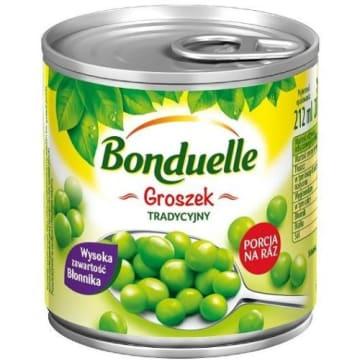 Bonduelle - Groszek konserwowy. Zielony przysmak w pyszce.